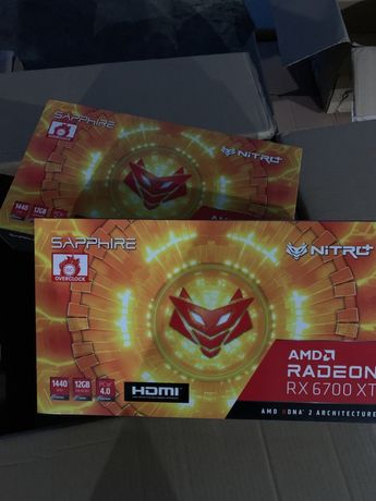 Sapphire Nitro+ RX 6700 XT GAMING OC 12GB Amd Radeon™