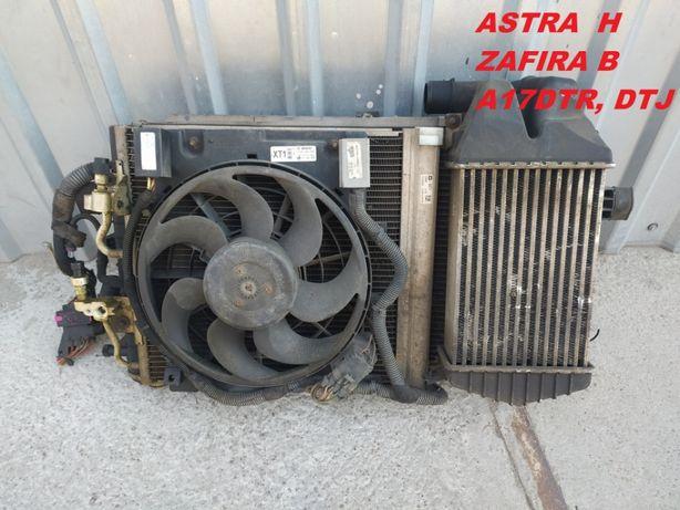 Кассета радиаторов Opel Astra J, Zafira B, Astra H 1,7 CDTI
