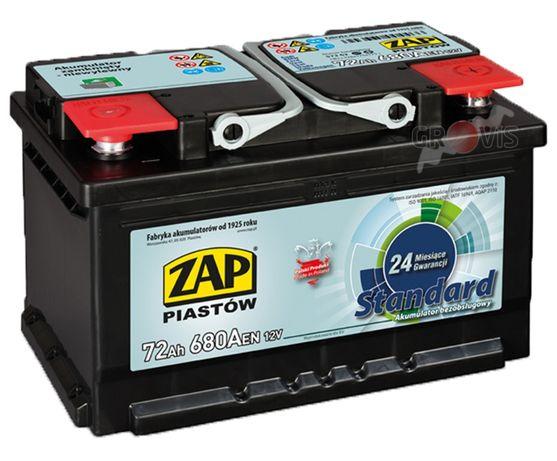 Akumulator 72Ah P+ DOSTAWA DOJAZD DO KLIENTA z MONTAŻEM bezobsługowy75