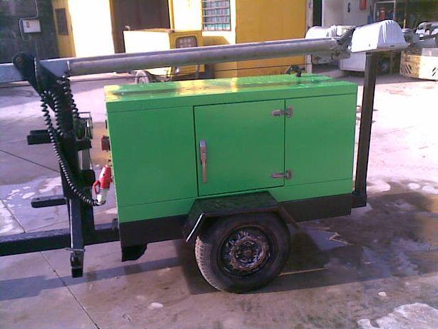 Gerador WFM 11 kva diesel + Torre iluminação