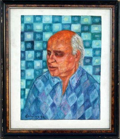 Cargaleiro - original, retrato pelo pintor Gomes Martins