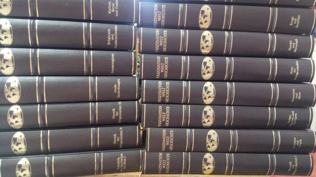 Encyklopedia historia świata 17 tomów niemiecka niemieckojęzyczna
