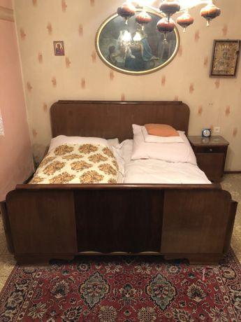 Łóżko antyczne stare meble