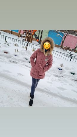 Куртка женская цвет пудра