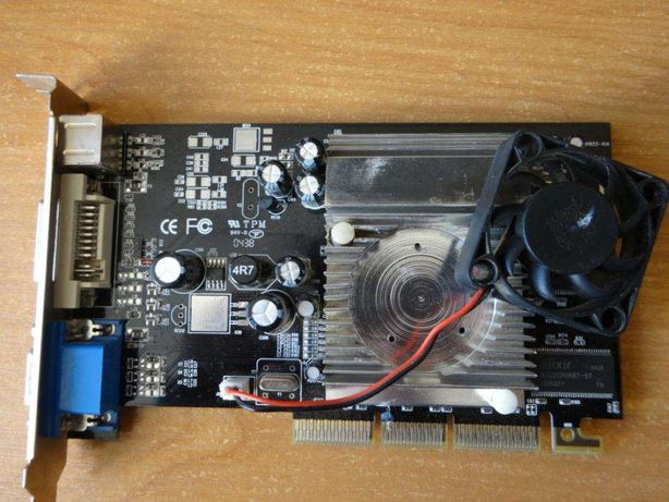 видеокарта Radeon 9600 128Mb