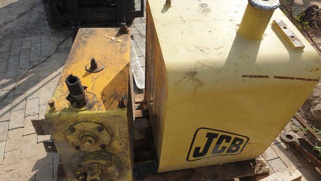 koparka kołowa jcb JS 130 z 2000r zbiornik paliwa oleju hydraulicznego
