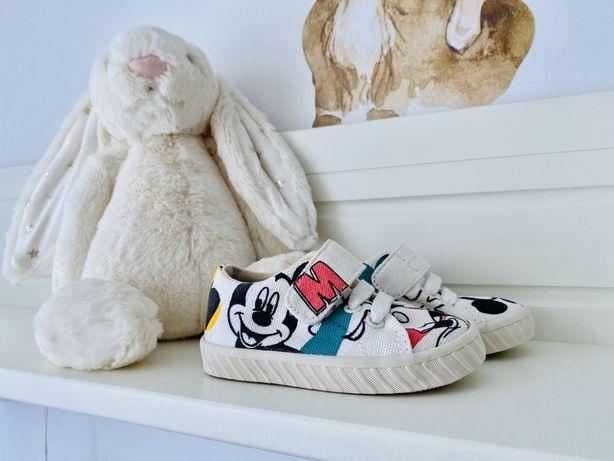 Nowe buciki Zara Disney Myszka Miki r. 19