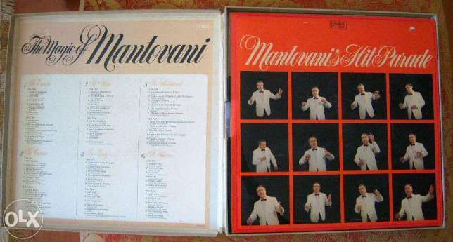 Mantovani, caixa com 8 discos vinil