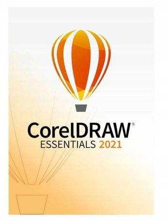 Nowy Corel DRAW 2021 ESSENTIALS PL/EN WINDOWS Sklep Grafik-iT