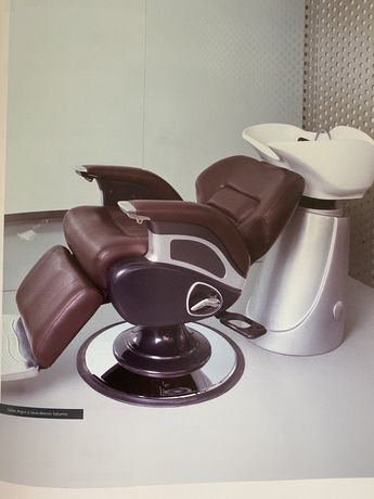 Cadeiras fabrica mobiliario barbeiro
