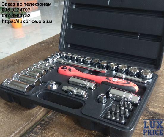 Профессиональный набор инструментов INTERTOOL ET-6039 головки трещотка