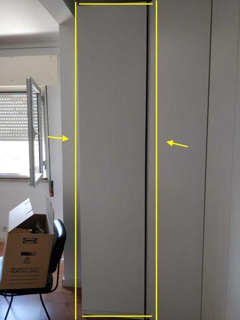 Estrutura de roupeiro PAX IKEA Branco