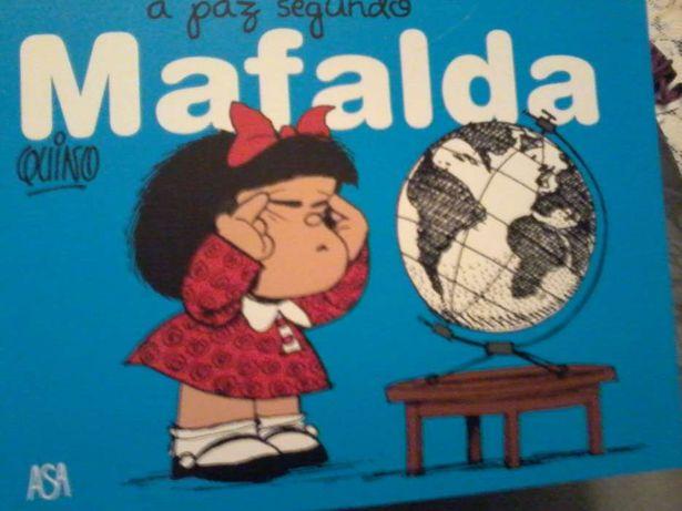 Mafalda - Livro A Paz segundo Mafalda