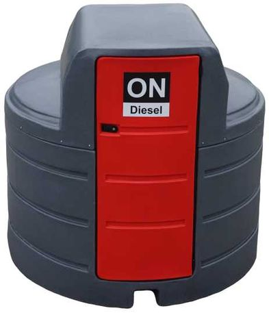 Zbiornik na paliwo dwupłaszczowy 2500L paliwa ON METRIA
