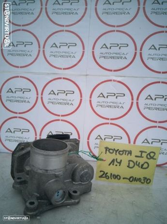 Borboleta de admissão Toyota IQ 1.4 D4D, ref 26100-0N030.