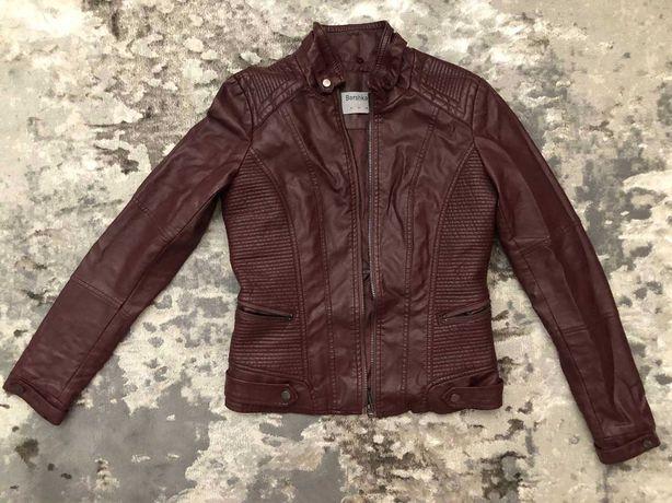 Куртка з еко кожі