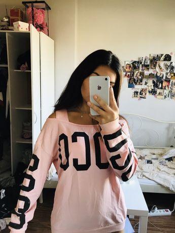 Bluza pudrowy róż s/m