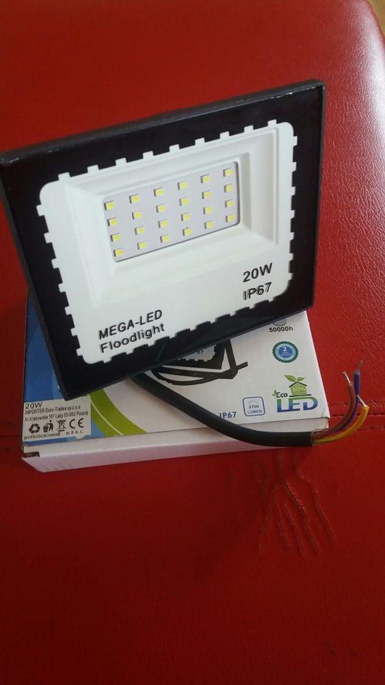 Lampa halogen naświetlacz 20W=200W 230v Będzin - image 1