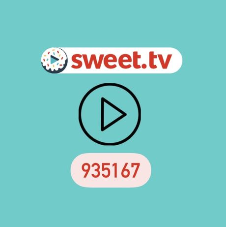 Акційний код Sweet.TV на 21 день сервісу/БЕЗКОШТОВНО
