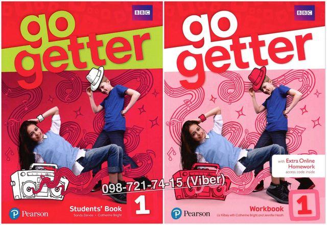 Go Getter 1. Student's Book + Workbook (+CD)
