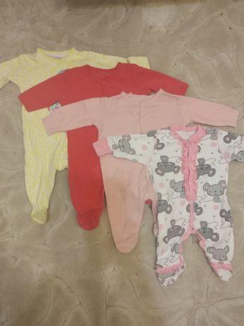 Человечки для новорожденных 4 шт за 80 грн