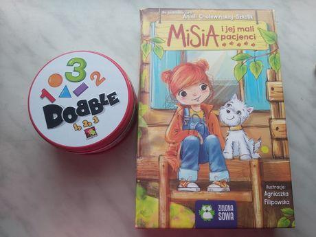 Dobble, misia i jej mali pacjenci gra dla dzieci