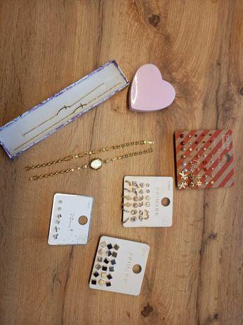 Biżuteria, zegarek, łancuszek, bransoletka