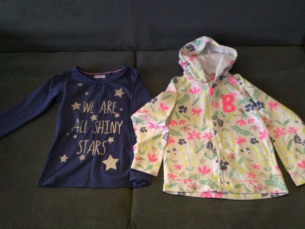 Bluza +bluzeczka dla dziewczynki 116