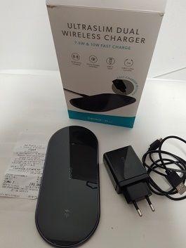 Epico Ultraslim Dual Wireless-ładowarka indukcyjna