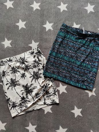 Mega paka XS S ubrania letnie markowe sukienki kombinezon szorty jeans