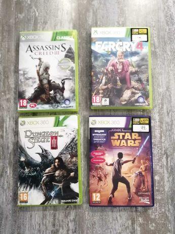 Gry na Xbox 360 na konsolę i kinecta