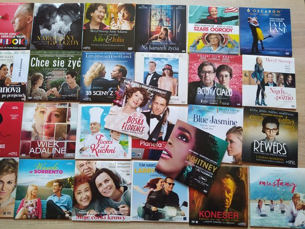 34 nowe płyty DVD