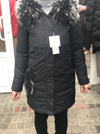 Зимовий жіночий пуховик, зимова куртка