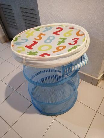 Arrumação Criança - Cesto e Bau para guardar brinquedos  Kusiner  Ikea