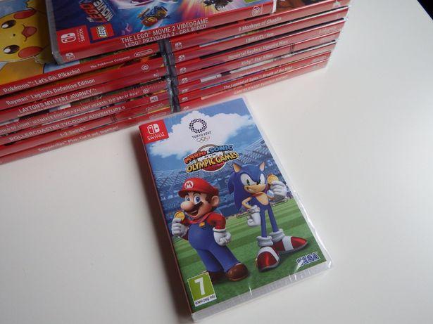 SWITCH Mario Sonic OLIMPIADA 2020 NOWA super gra dla całej rodziny