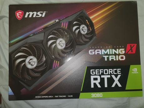 RTX 3080 MSI Gaming X Trio OC