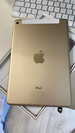 iPad mini 4 128GB Gold Cellular