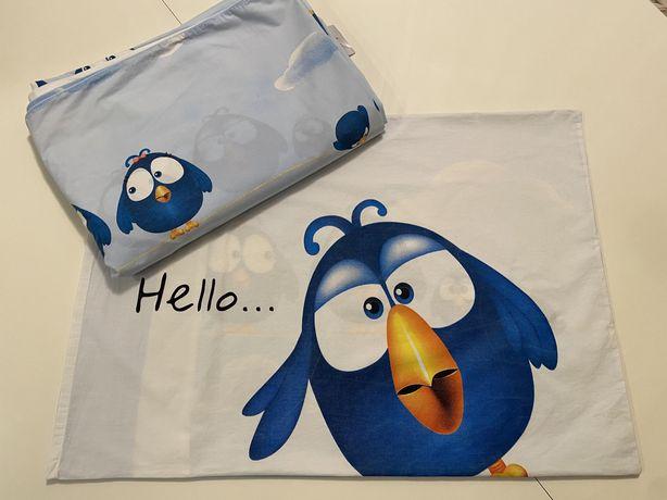 Комплект детского постельного белья полуторный,наволочка+пододеяльник.