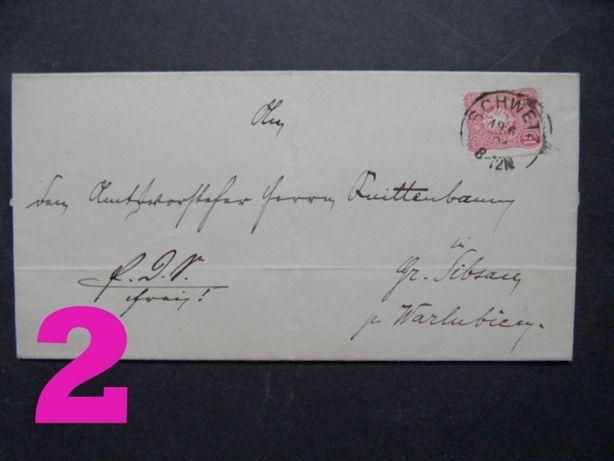 stare przedwojenne koperty kartki pocztowe Postkarte hitler