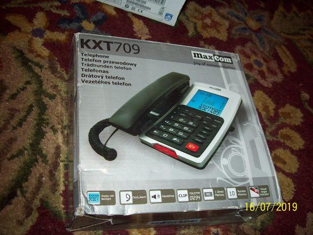 sprzedam fabrycznie nowy telefon maxcom kxt709