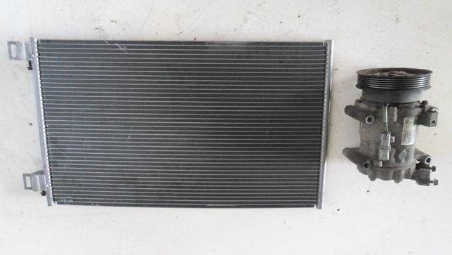 Компрессор Радиатор кондиционера 1.5dci Рено Кенго Renault Kangoo 2