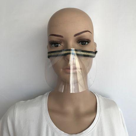 MINI przyłbica MASKA lekka OSŁONA twarzy OZDOBNA