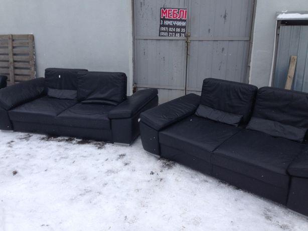Комплект шкіряних (кожаный) меблів (3+2) з Німеччини