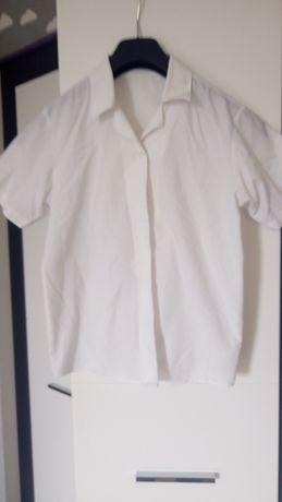 Biała koszula 134cm