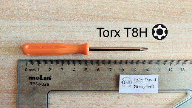 Chave ferramenta torx T8 T8H abertura reparação PlayStation 3/4, Xbox