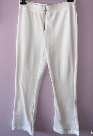 Calças formais brancas