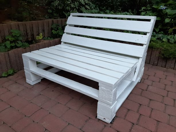 Meble z palet ławka ogrodowa PRODUCENT