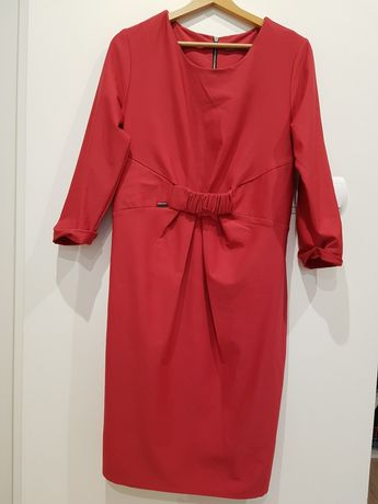 Sukienka ciążowa Happymum rozmiar L kolor fuksja