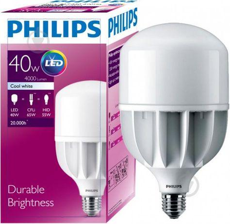 LED Лампа світлодіодна Philips TForce 40Вт 4000К osram eurolamp xiaomi