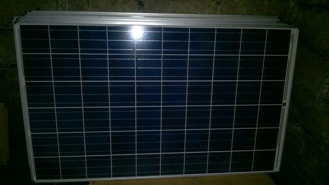Panele fotowoltaiczne 2kW + regulator + komplet mocowania (off grid)